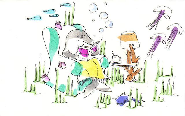 Cuento sobre un viejo y querido delfín