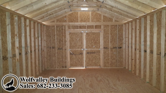 Wolfvalley Buildings Storage Shed Blog : This spacious 14x24