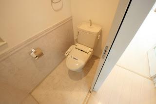 徳島市 東新町 アルファステイツ 分譲 賃貸 3LDK トイレ