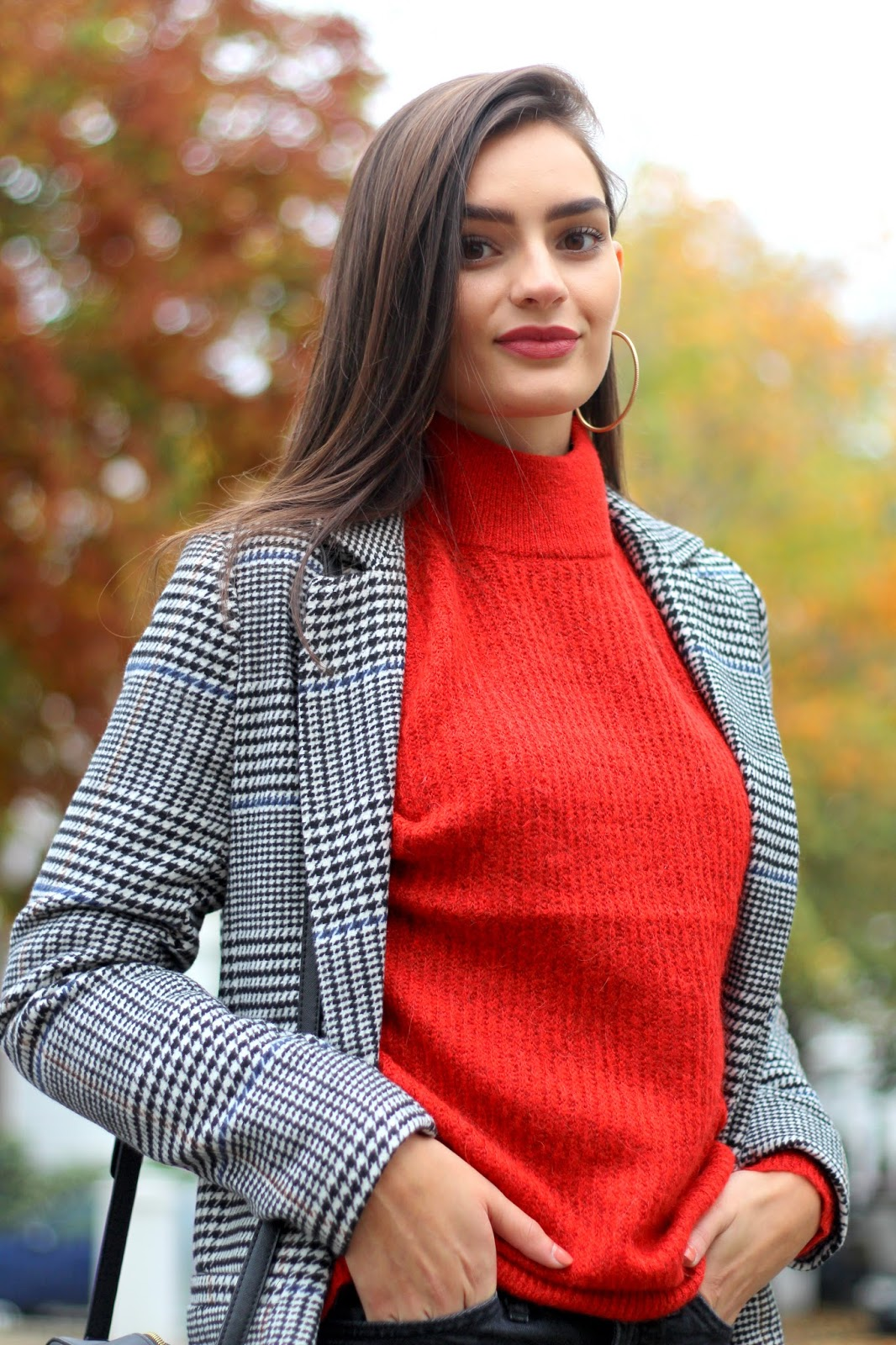 fashion blogger peexo autumn coat weather