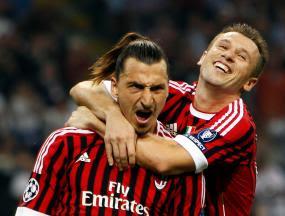 dibentuk Zlatan Ibrahimovic dan Antonio Cassano Terkini AC Milan menang 2-0 atas Viktoria Plzen Berkat Gol Ibra-Cassano