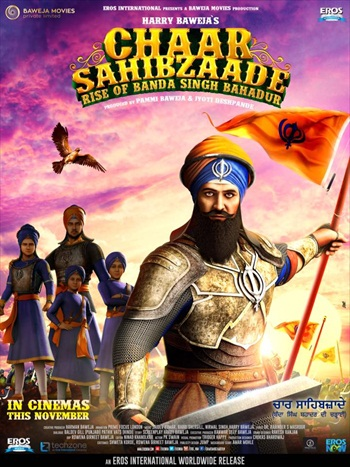 Chaar Sahibzaade Rise of Banda Singh Bahadur (2016) Worldfree4u - Punjabi Movie pDVDRip 700MB - Khatrimaza