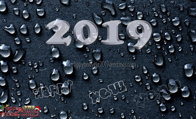 New Year 2019 3D Background Wallpapers - 2019 3D Graphics Download For Desktop