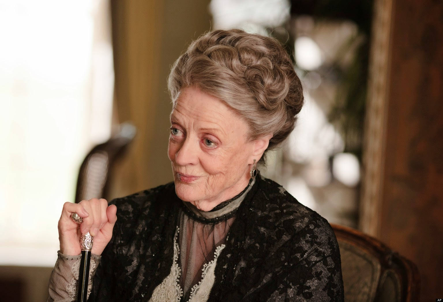 Maggie Smith dans Downtown Abbey