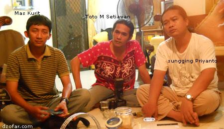 Mas Kurit, mas Toto, masku Sungging Priyanto