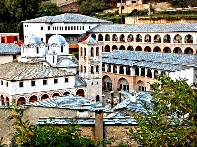 Orthodox Holy Monasteries in Greece