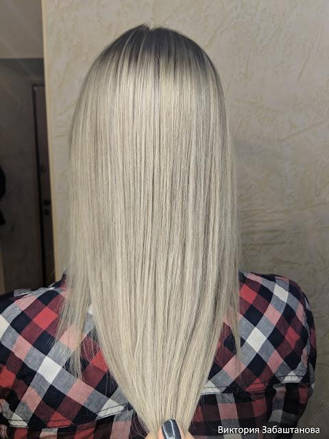 Блонд окрашивание