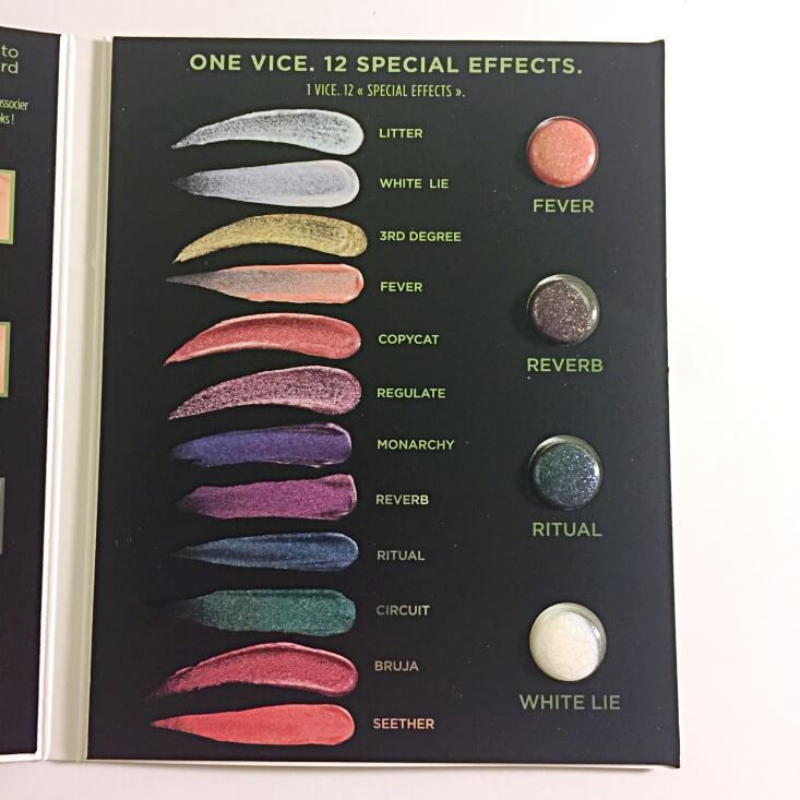 Urban Decay Vice Special Effects Sampler