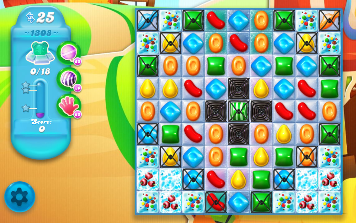 Candy Crush Soda Saga level 1308