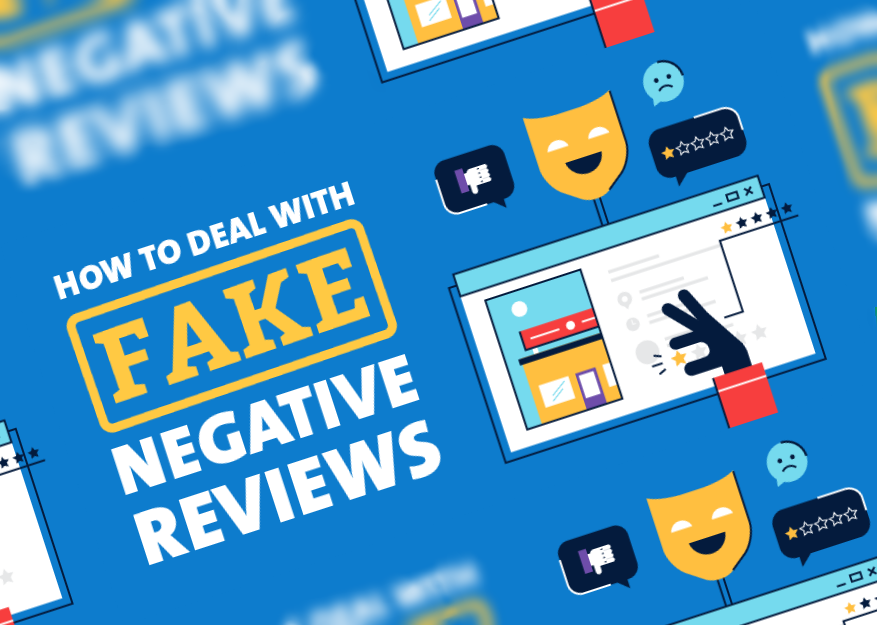 What To Do When You Get A Fake Bad Review Infographic Digital