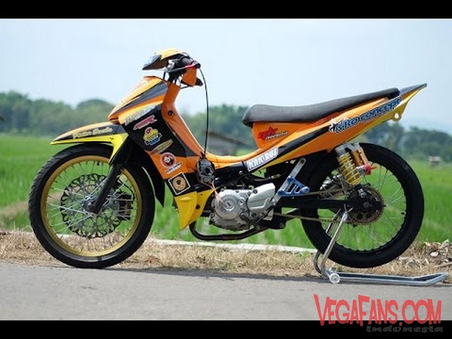 Modifikasi Jupiter Z Orange Road Race Simple