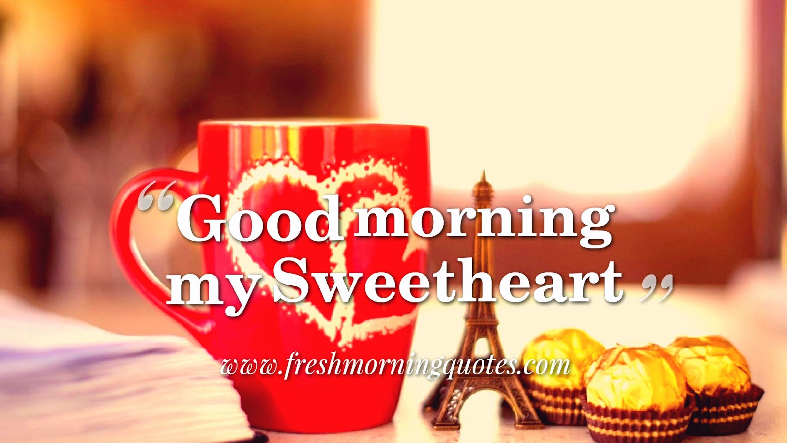 good morning coffee with love wallpaper