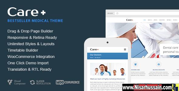 Medical and Health Premium Wordpress Theme