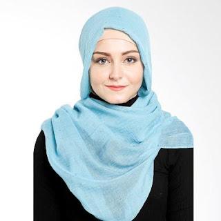 Contoh Jilbab Elzatta Polos