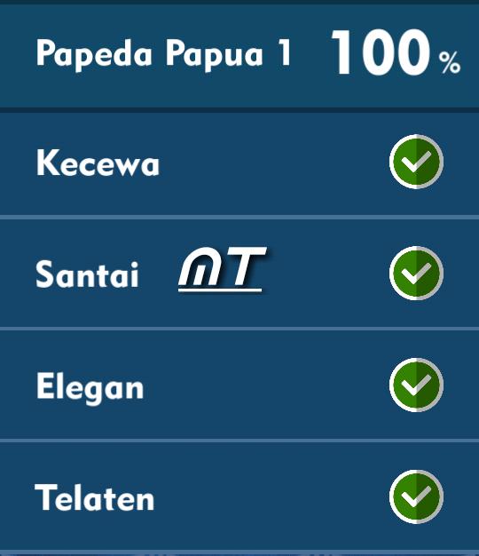 Jawaban Tts Cak Lontong Papeda Papua 1 T