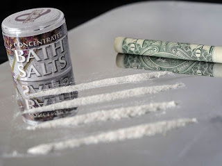 The street drug 'bath salts' are very dangerous