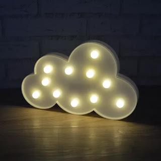 luminaria nuvem
