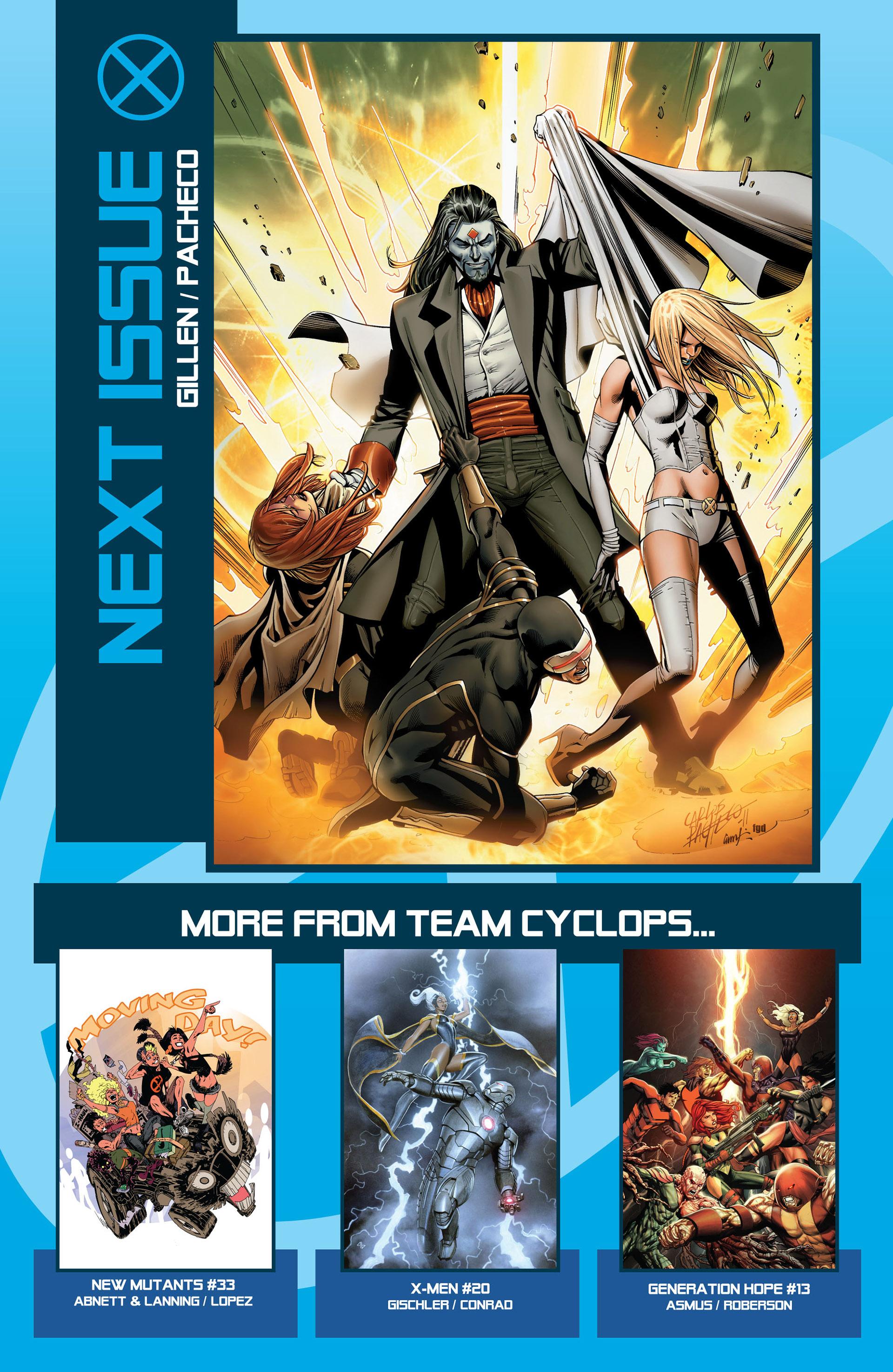 Read online Uncanny X-Men (2012) comic -  Issue #1 - 33