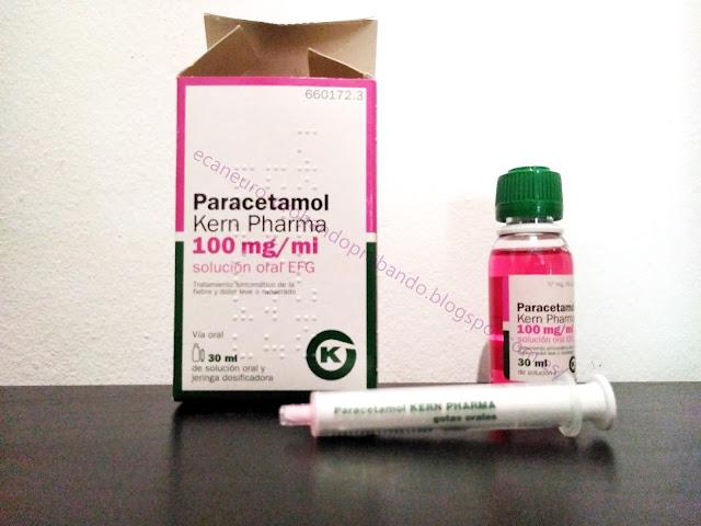 Paracetamol 100 ml bebés y niños