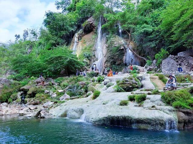 Air Terjun Sri Gethuk, Gunung Kidul, Jogja - Foto ixotransport