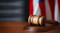 Gavel and flag (Credit: Shutterstock) Click to Enlarge.