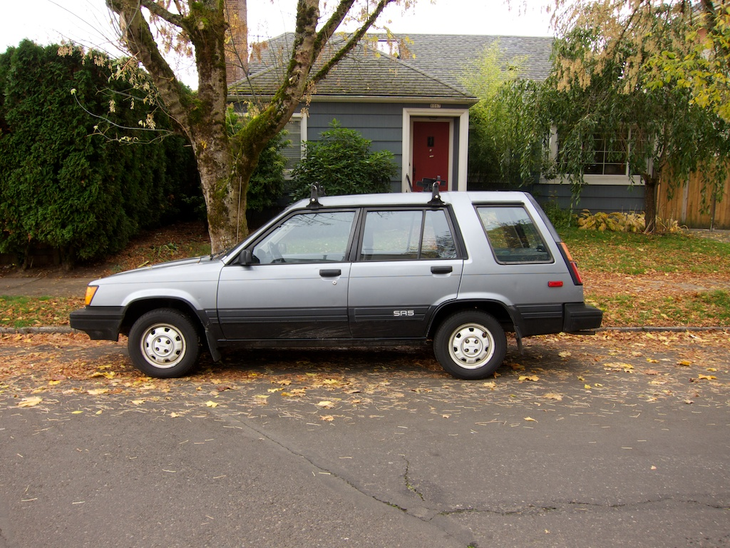 The Street Peep 1985 Toyota Tercel Sr5 Wagon 1990 Hatchback