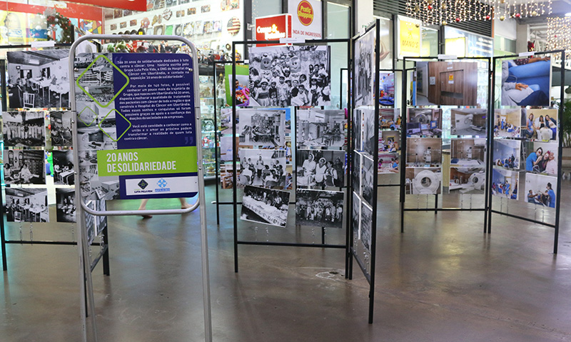"Mostra fotográfica ""20 anos de solidariedade"" chega ao Uberlândia Shopping 9ed34cfa5b"