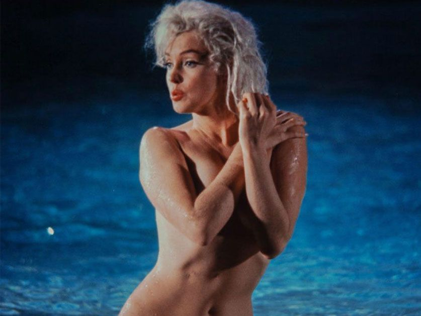 Subastarán Fotos De Marilyn Monroe Desnuda Laser Fm 947
