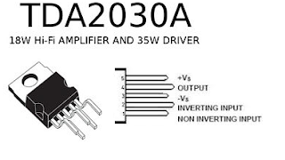 Amplificateur BF petit modèle en kit TDA 2030A DIY