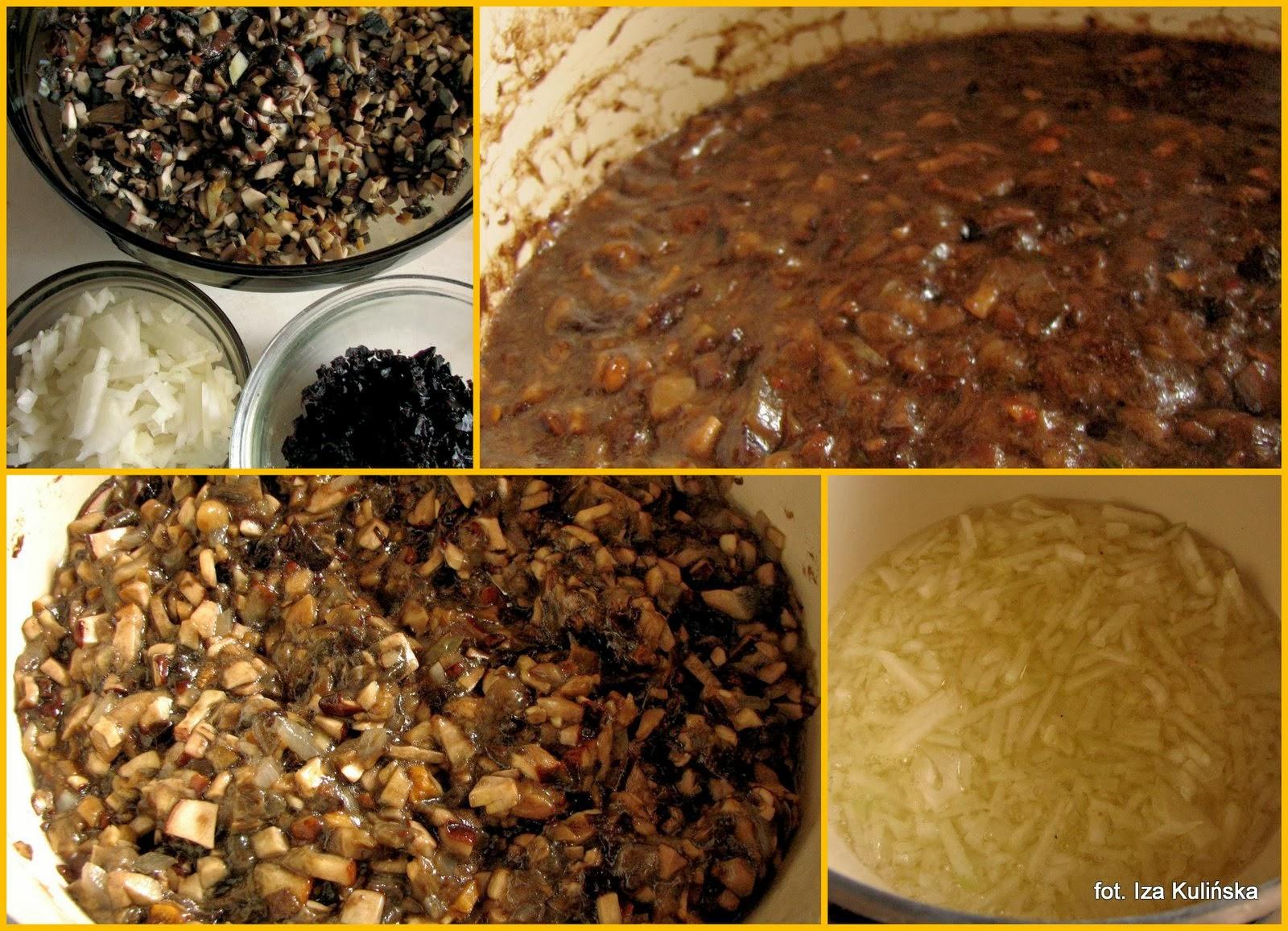 pasta z grzybow, grzyby lesne, smarowidlo do chleba, do smarowania, dzem z grzybow, grzybowo