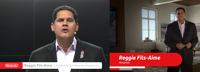 Reggie Fils-Aime Fils-Aimé Fils Aime E3 2016 2017 Spotlight Nintendo of America gay pin rainbow flag Orlando tribute  suit jacket