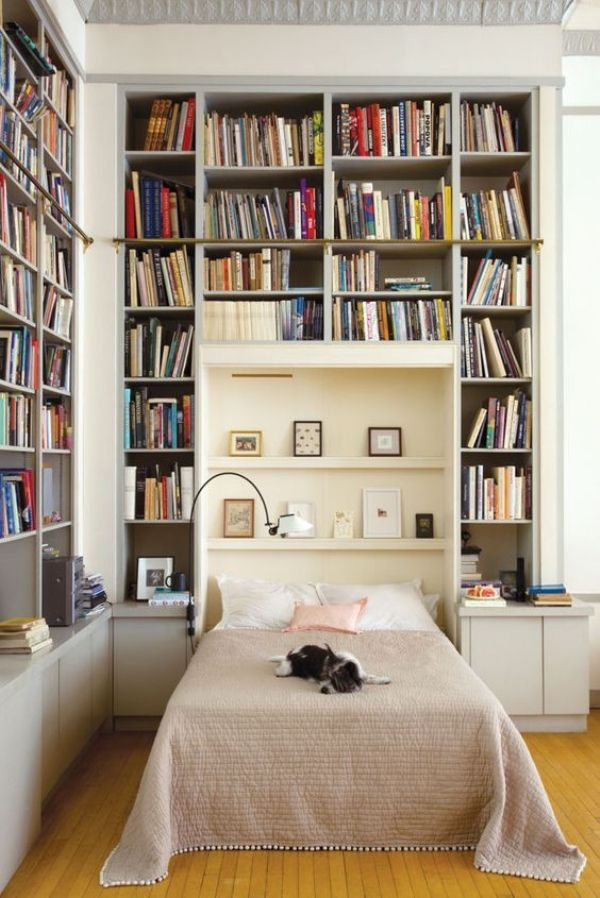Bilik Tidur Idaman Penggemar Buku