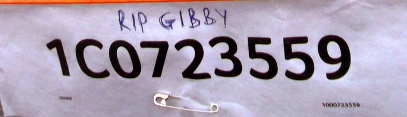 Adrian Gibbons remembered during the Sainsbury's Sport Relief 2014 Mile Fun Run on March 23 - picture on Nigel Fisher's Brigg Blog