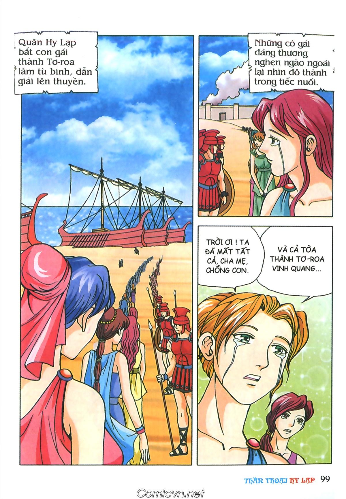 Thần Thoại Hy Lạp Màu - Chapter 69: Thành Troy thất thủ - Pic 29