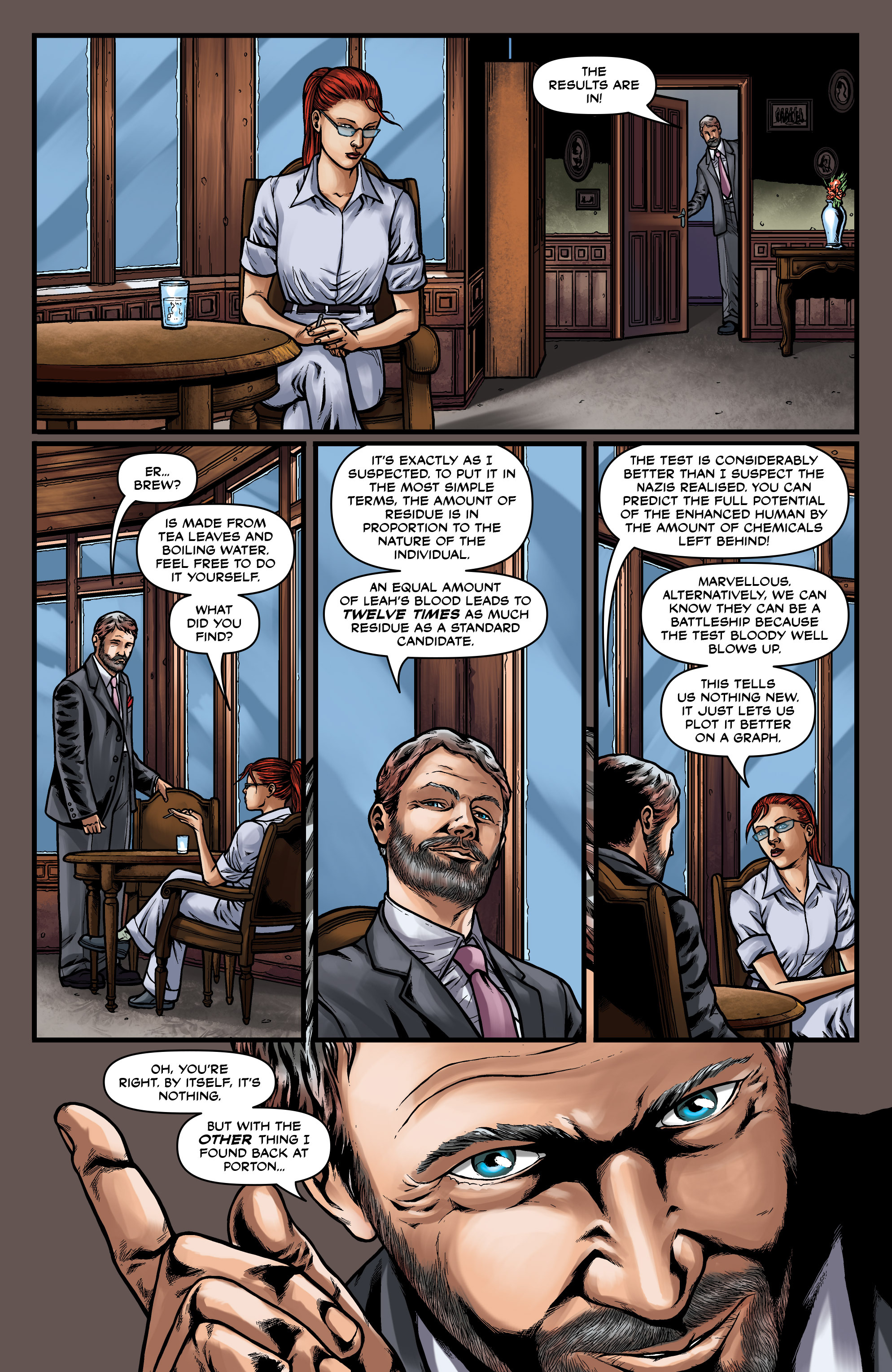 Read online Uber comic -  Issue #15 - 24