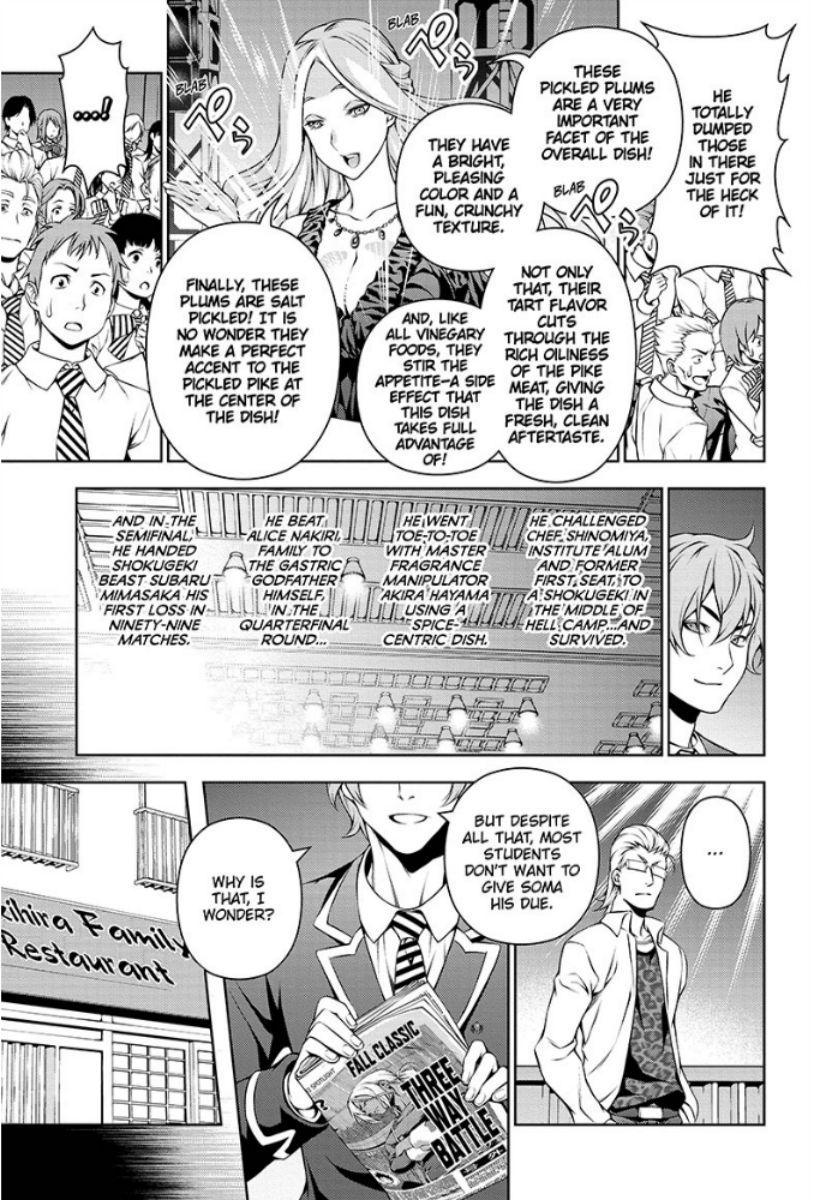 Shokugeki no Soma - Chapter 116