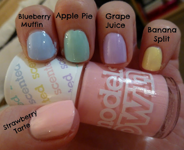 Models Own Fruit Pastel Collection Nail Polish Swatches
