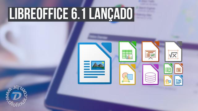 Grandes alterações na versão 6.1 do LibreOffice
