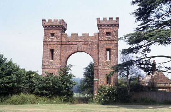Photograph: The Folly Arch attributed to James Gibb c. 1740. Photograph taken in the 1980s