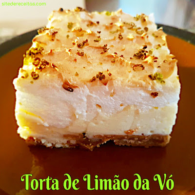 Torta de limão da vó