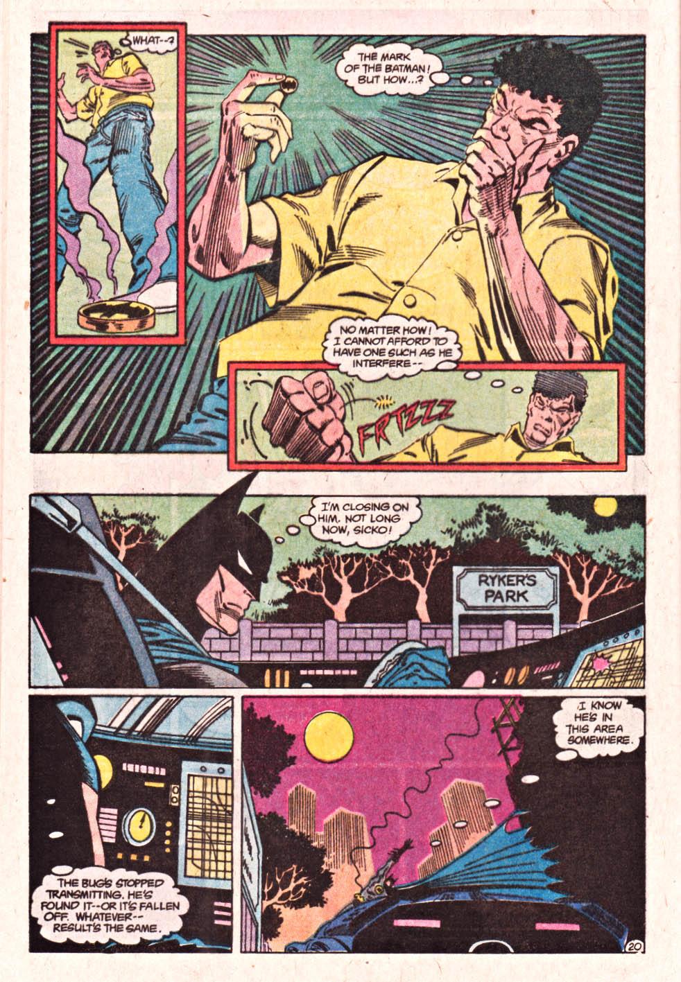 Detective Comics (1937) 601 Page 20