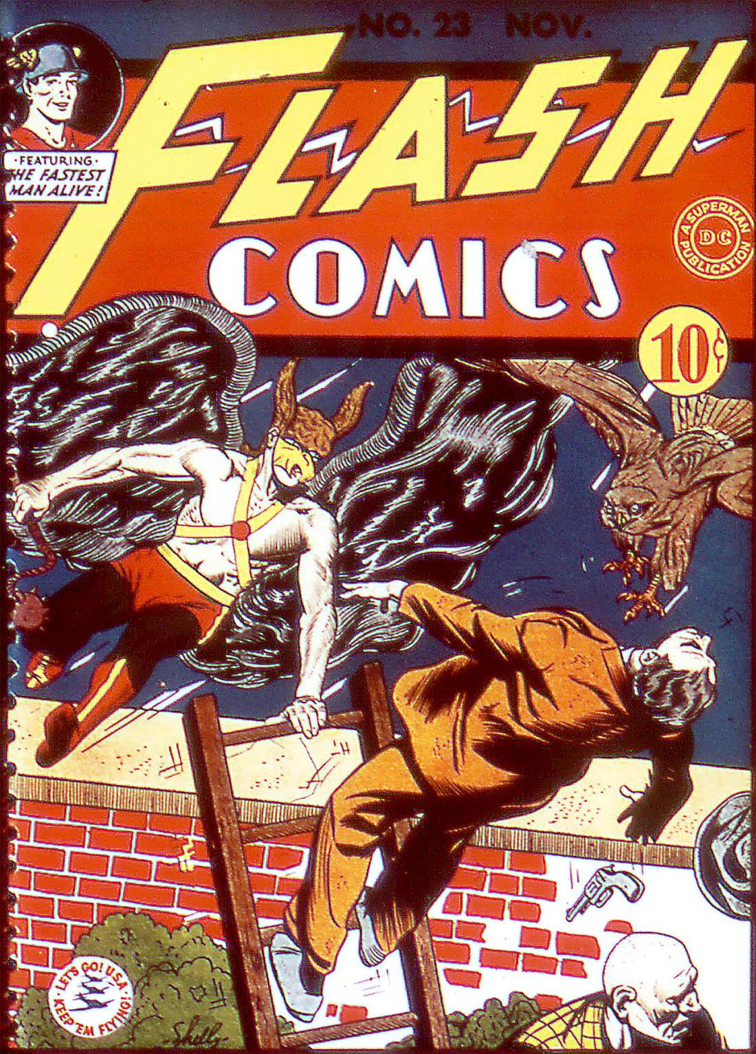 Flash Comics 23 Page 1