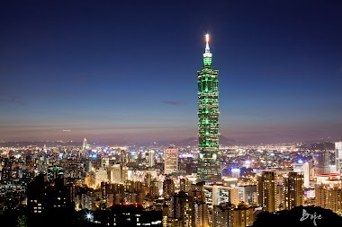 Walking through Taiwan and Taipei 101
