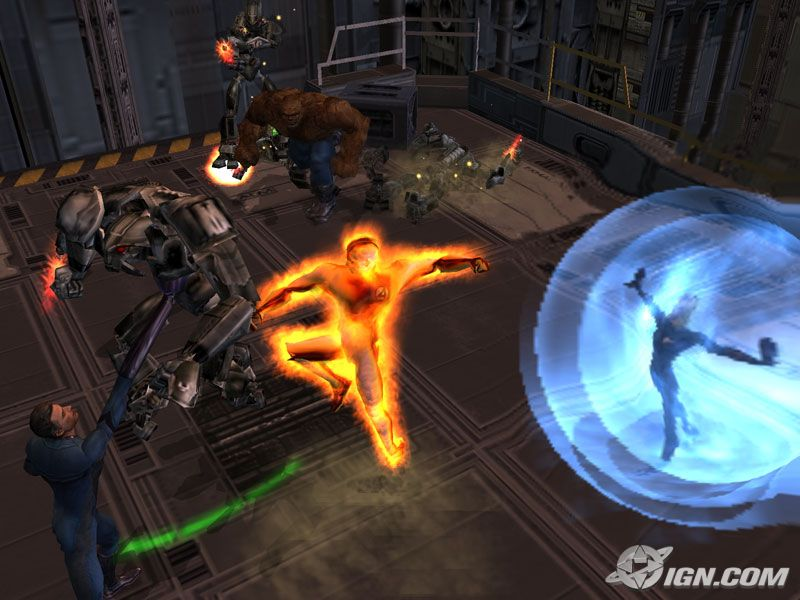 Free Fantastic Four Games