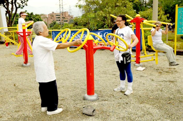 Ejercicios en el parque - 4 9