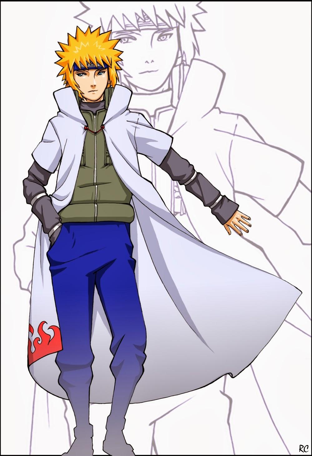 Cool Anime Character: Minato ( Yondaime