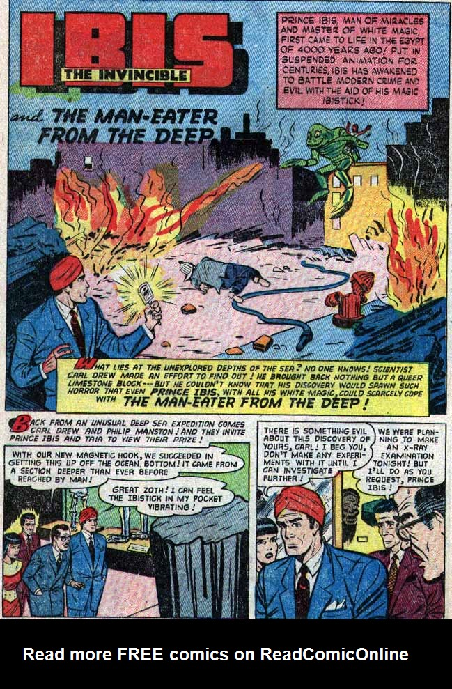 Read online WHIZ Comics comic -  Issue #154 - 16