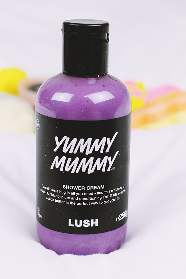 Lush Yummy Mummy Shower Cream Review