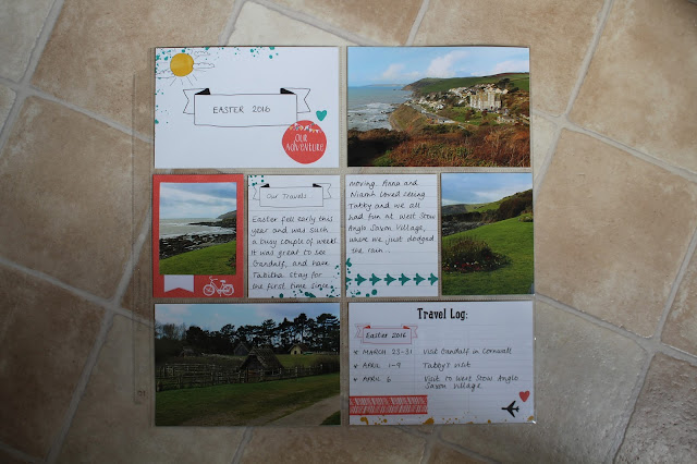 Stampin' Up! Project Life ~ Let's Get Away