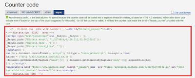 Cara Daftar dan Memasang Code Histats di Blog 15